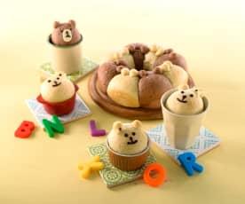 熊熊造形麵包