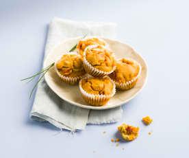 Muffins apéritifs sans gluten