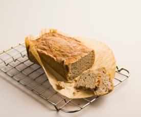 Bezglutenowy chleb ryżowo-gryczany