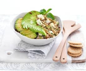Salade de sarrasin, concombre et feta
