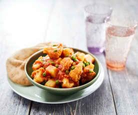Karfiol-Erdäpfel-Curry (Aloo Ghobi)
