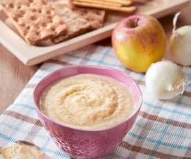 Salsa di cipolle e mele