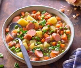 Hráškovo-mrkvová polévka
