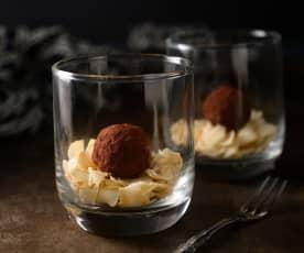 椰棗生巧克力球