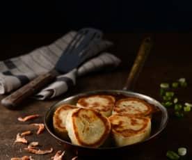 櫻花蝦煎包