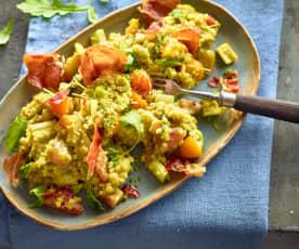 Graupen-Tomaten-Salat