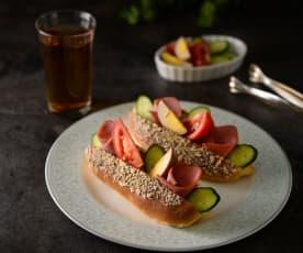 免炸營養三明治