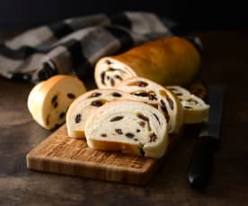 葡萄乾木材麵包