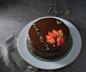 鏡面巧克力蛋糕