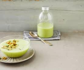 Gurken-Melonen-Suppe