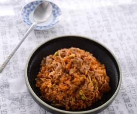 韓式辣醬牛燉飯