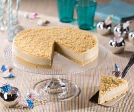 Cheesecake alle arachidi salate