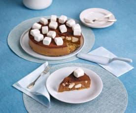 Czekoladowe ciasto na zimno z piankami marshmallow
