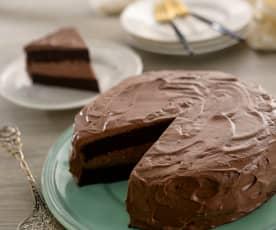 黃藜巧克力蛋糕