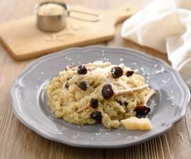 野菇奶油藜麥燉飯