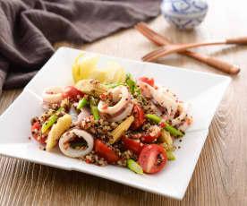 泰式藜麥海鮮沙拉