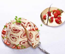 Domino aux fraises