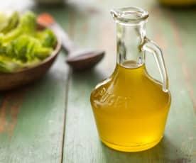 Olio aromatizzato al limone e rosmarino