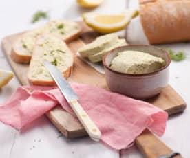 Masło cytrusowe z koperkiem