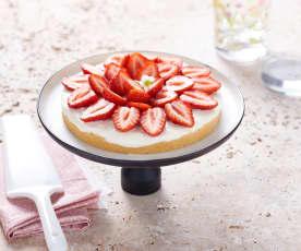 Tarte express aux fraises