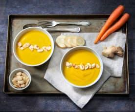 Vellutata di carote e pastinaca