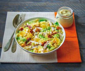 Caesar Salad mit Huhn