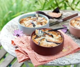 Clafoutis figues-amandes