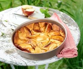 Clafoutis aux pommes et à la vanille