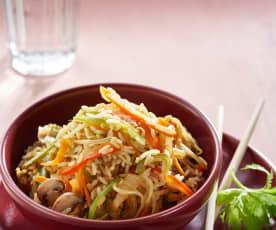 Rijst met groentemix