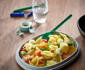 Pastasalade met groenten