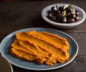 Mantequilla de zanahoria asada