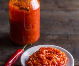 Mermelada de jitomate y chile