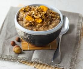 5-Elemente Kraftbrei mit Quinoa und Maroni