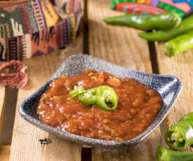 Salsa borracha messicana