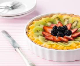 Tarte de fruta fresca