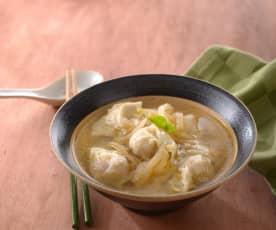 蝦仁餛飩湯