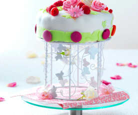 Wedding cake 'Bonheur partagé' de Laetitia (Finale Thermostars 2017)