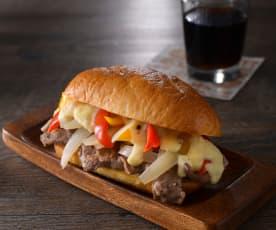 費城牛肉起司三明治