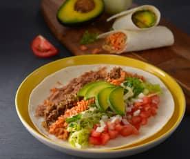 墨西哥牛肉捲餅