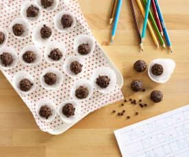 Chocolate Apple Date Balls
