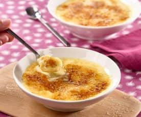 Crème vanille aux fruits exotiques