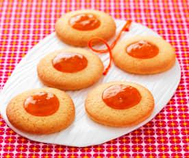 Biscuits à la confiture