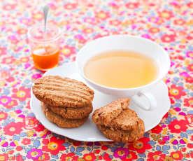 Biscuits aux céréales complètes