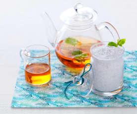 Sucre thé vert à la menthe