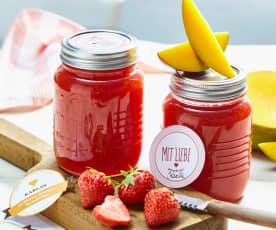 Erdbeer-Mango-Konfitüre