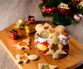 聖誕玻璃餅乾