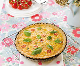 Tomato and Vegetable Quiche