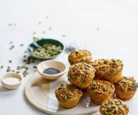 Muffins de batata-doce