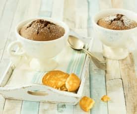 Amaretto-Tassenkuchen (Resteverwertung von Eiklar)