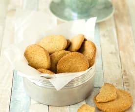 Dotter-Mandel-Kekse (glutenfrei, laktosefrei)